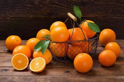 are oranges good for hermit crabs?
